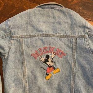 Vintage Mickey Mouse Denim Jacket